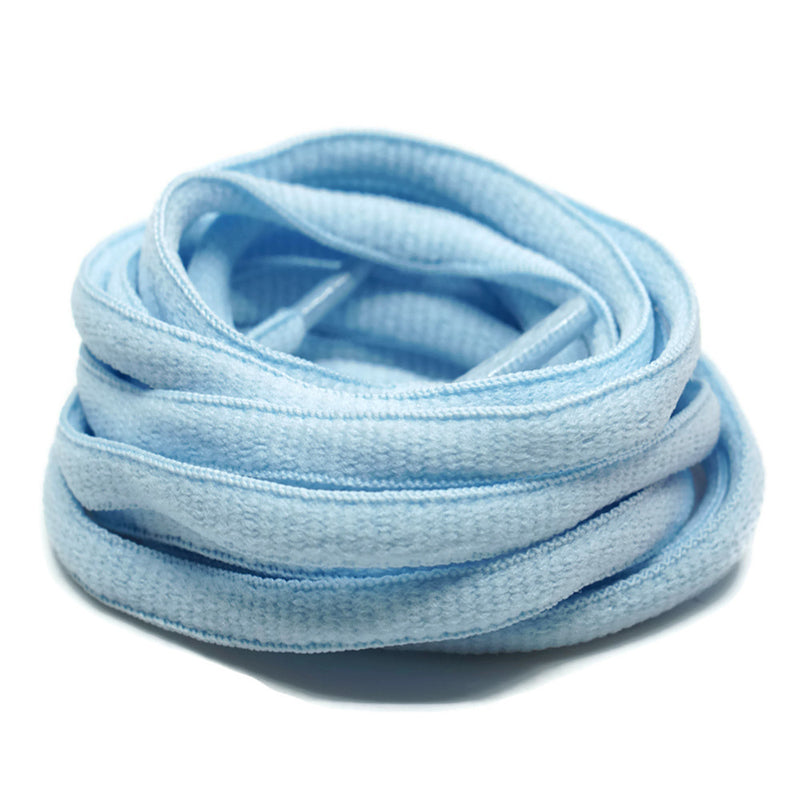 Oval Shoelaces - Baby Blue