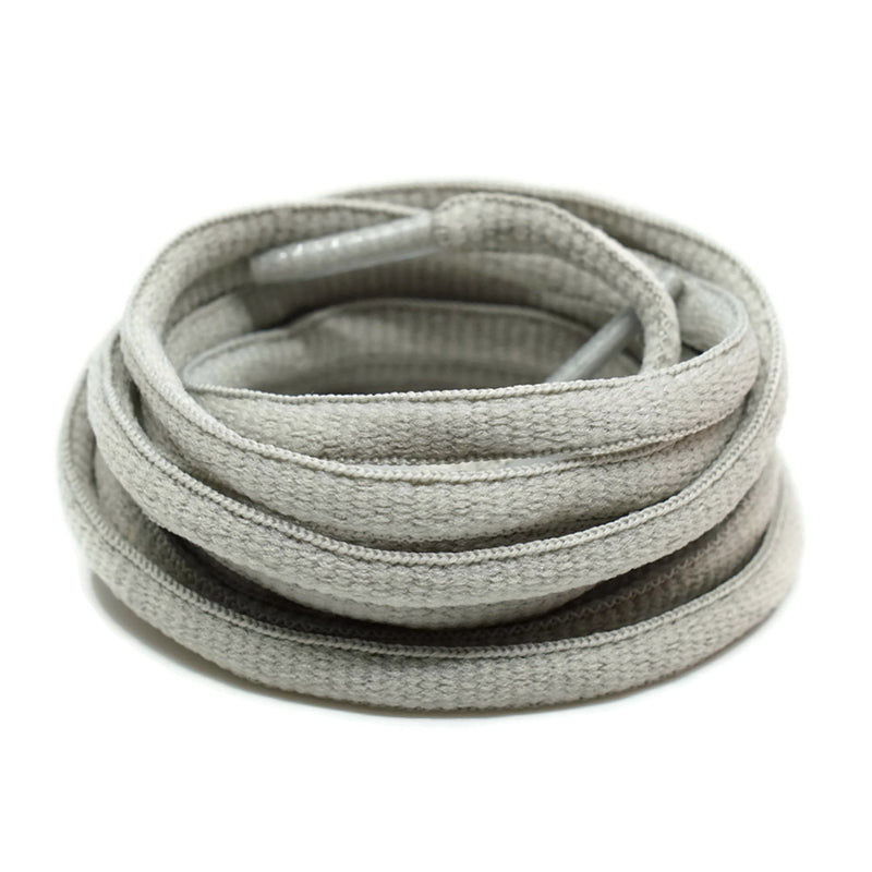 Oval Shoelaces - Gray