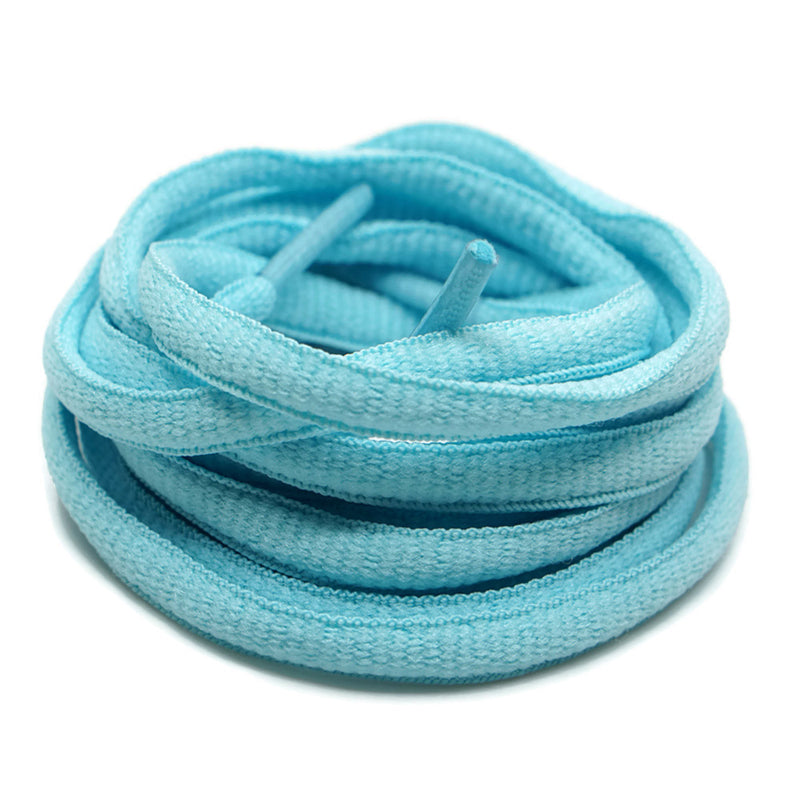 Oval Shoelaces - Light Blue