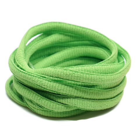 Oval Shoelaces - Light Green