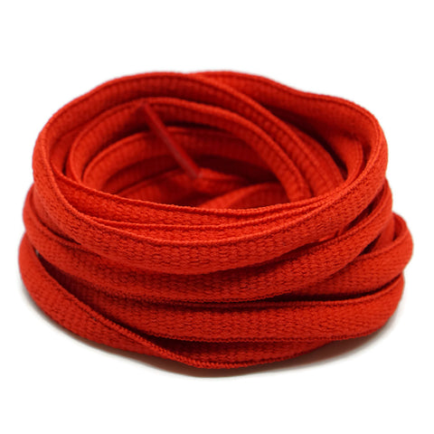 Oval Shoelaces - Red