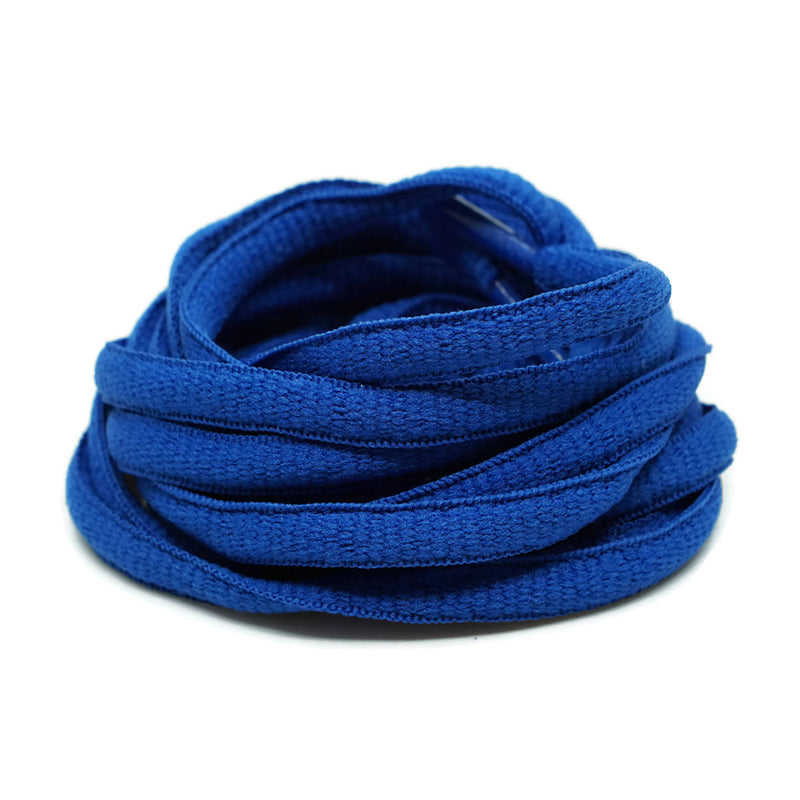 Oval Shoelaces - Royal Blue