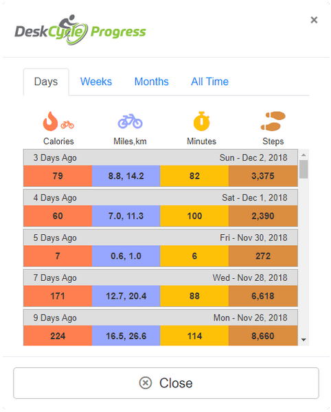 Calorie Calculator and Logger Update