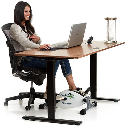 DeskCycle 2 Adjustable Height Under Desk Exercise Bike / Pedal Exerciser ... Home Design Ideas