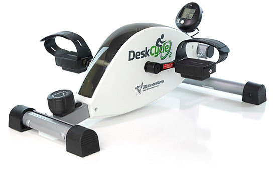 DeskCycle 2 Adjustable Height Under-Desk Exercise Bike / Pedal Exerciser