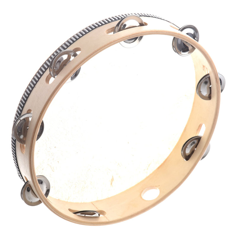 Tambourine Drum Round Percussion - DealsBlast.com