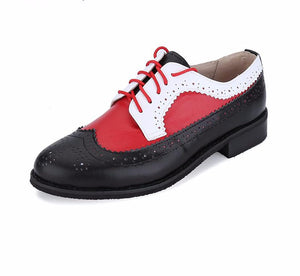Leather Oxford shoes for Women - DealsBlast.com