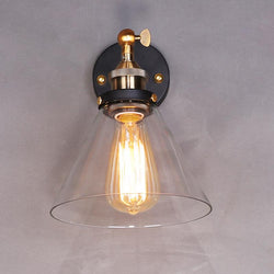 Vintage Glass Wall Lamp Light Wall For Corridor Bedroom - DealsBlast.com