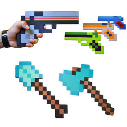 1pcs New Foam Weapons Sword Axe Shovel Gun Kids Toy Gift - DealsBlast.com