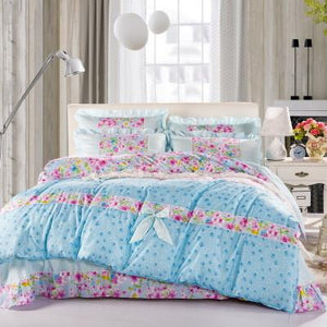 Summer style Bedding set 4pcs  Bed linen sheet Duvet cover comforter bedding sets Bedspread EPillowcase