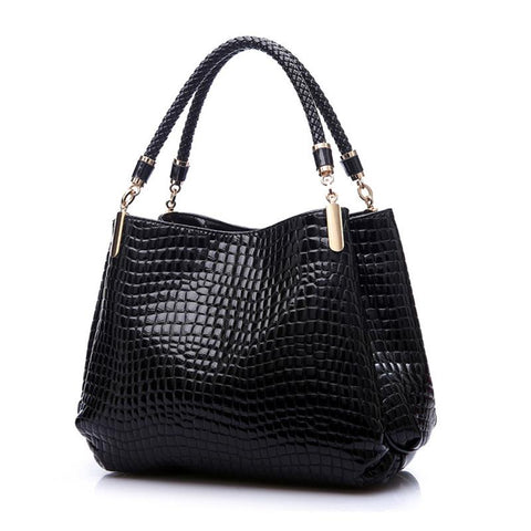 Designer Handbag Women Leather Handbags Alligator Shoulder Bags