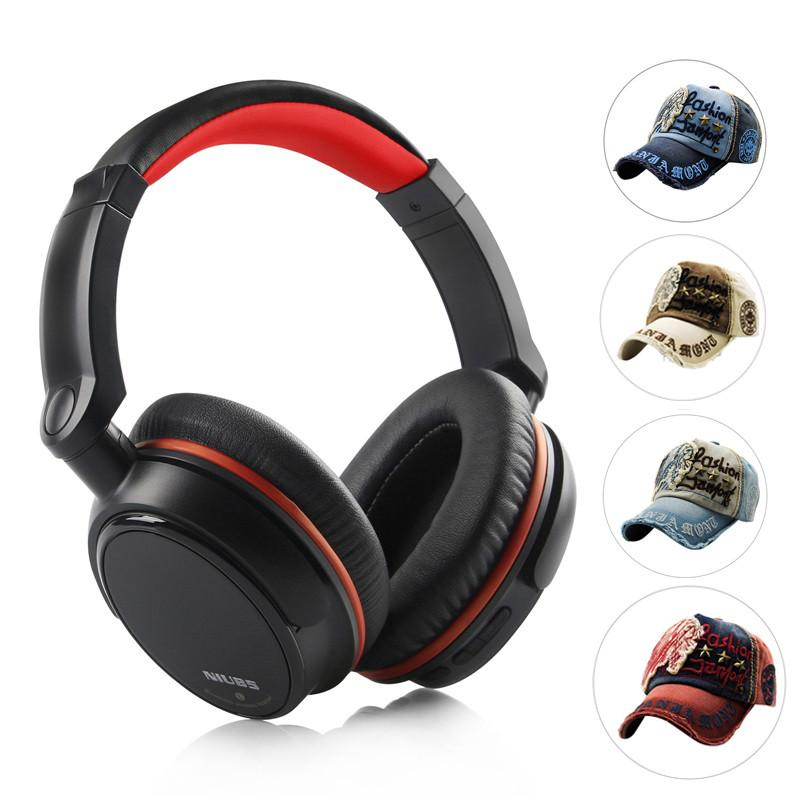 Bluetooth Headphone Wired & Wireless HiFi Headset with Microphone for Mobile Phone