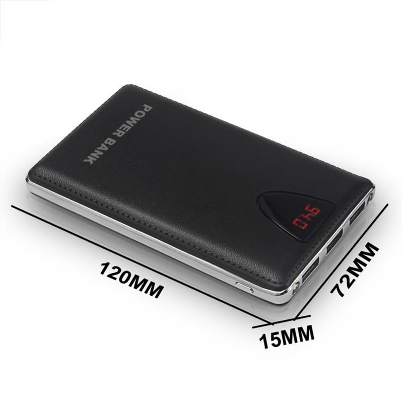 3USB Mobile Power Bank 20000mAh powerbank portable charger external Battery 20000 mAH mobile phone charger Backup powers