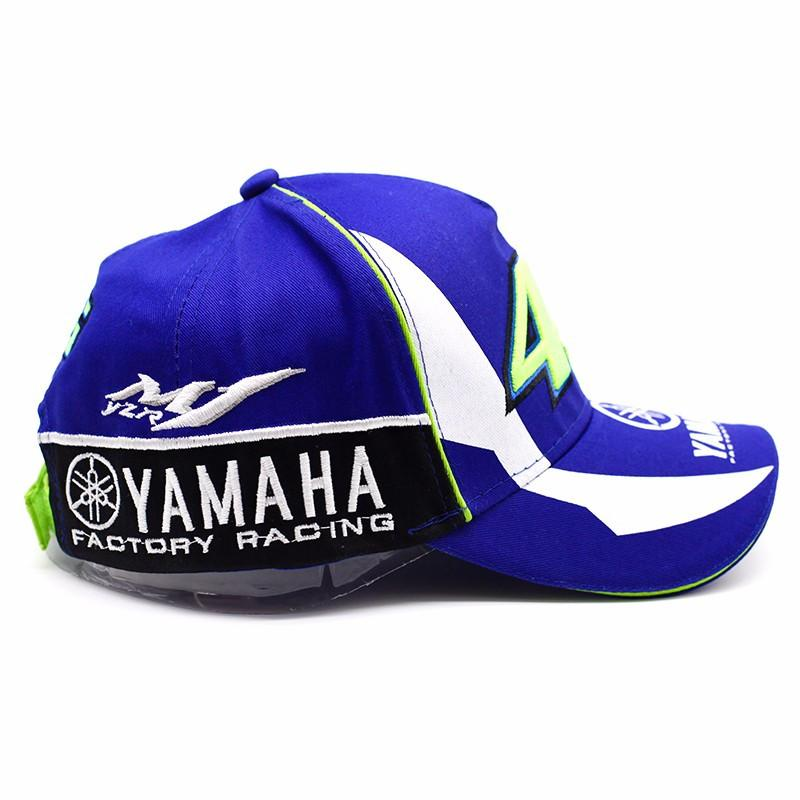 9cf633cb1fad2 High Quality MOTO GP 46 Motorcycle 3D Embroidered F1 Racing Cap Men Women  Snapback Caps Rossi ...