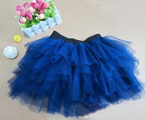 TUTU skirt dance performances veil triple net girls skirt