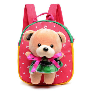 Children school bags cute cartoon bear infant backpacks for baby girl boys schoolbag kids bags - Deals Blast