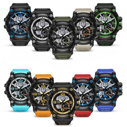 Luxury Brand Military Wristwatch Men G Style Analog Clock Fashion