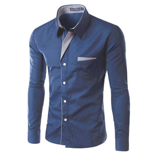 New Fashion Brand Men Shirt Size M-4XL - DealsBlast.com