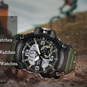 New G Sport Wrist watch Men LED Digital Military  Fashion