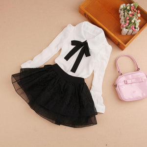 Spring Girls Blouse Children Kids Baby Girl Clothes School Blouses 2-16T - DealsBlast.com