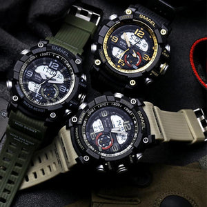 Men wristwatch waterproof luxury sport military G style S Shock