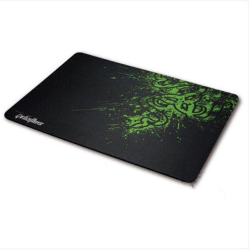 250mm*210mm Professional Rubber Gaming Mouse Mat Pad Smooth Speed Edition Locked Size Medium - Deals Blast