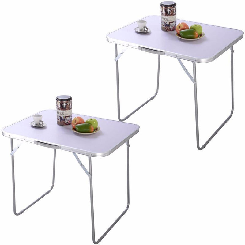 2PC Portable Folding Table In/Outdoor Desk - DealsBlast.com