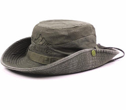 Summer Bucket Hats Outdoor Fishing Wide Brim Hat UV Protection Cap Men Hiking Sombrero Gorro sun Hat for men - DealsBlast.com