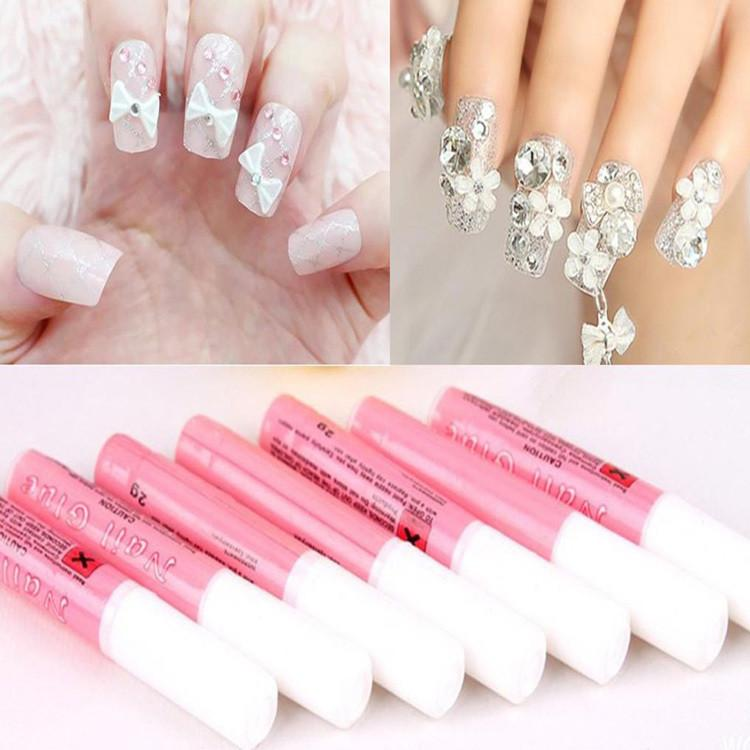 2g Mini Professional Beauty Nail False Art Decorate Tips Acrylic Glue Nail Accessories - DealsBlast.com