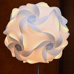Modern Puzzle Table  Lamp Shade Kit Lampshade - DealsBlast.com
