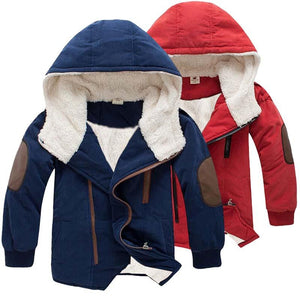 3-11 Years Kids' Warm Jacket