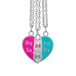 Mother-daughter Necklace Big Sis Lil Sis Family Necklace - DealsBlast.com