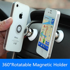 360 Degree Universal Mobile Phone Holder Magnetic Car Air Vent Mount
