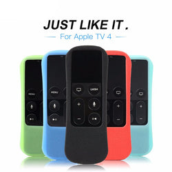 Silicone Protective Cover Case For Apple TV 4th Generation Remote Controller  For Apple TV 4 Siri Remote Case Ergonomico Design - DealsBlast.com