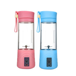 380 ML USB Electric Fruit Juicer Cup Mini Squeezers Portable Squeezer Blender Gym Outdoor Travel - DealsBlast.com