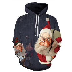 Christmas Jumper Full Sleeve Casual O Neck Hoodies Men Women Clothing - DealsBlast.com