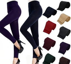 Fitness Lady Womens Winter Warm Skinny Slim Stretch Thick Leggings - DealsBlast.com