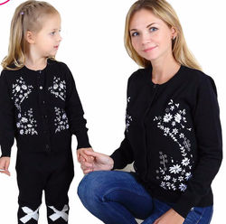 Floral Family Matching Outfits Sweaters - DealsBlast.com