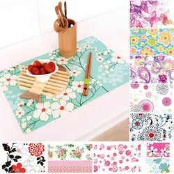 Colored dining table placemats table mats - Deals Blast
