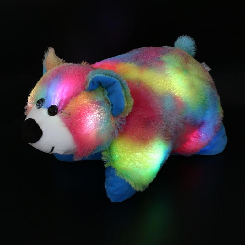 40cm Glowing  Colorful Flash LED Light Gift Stuffed Animals Toys Gifts for Kids - DealsBlast.com