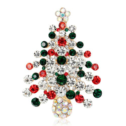 Christmas Tree Brooch - DealsBlast.com