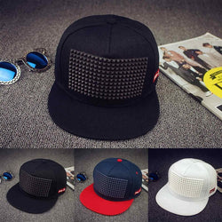 5 colors new hot sale Plastic triangle baseball cap hat hip hop cap flat-brimmed hat snapback cap hats for men and women - Deals Blast