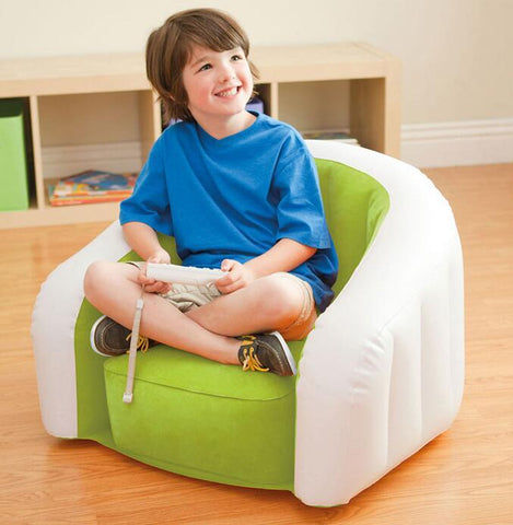 U-shaped children inflatable sofa
