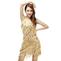 Woman Vestido De Festa Flapper Fringe 1920s Gold Vintage Great Gatsby Sequin Party Dress Plus Size Cheap Slip Sexy Summer Dress - DealsBlast.com