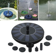 SOLAR POWERED FOUNTAIN PUMP - PERFECT FOR YOUR GARDEN OR PATIO