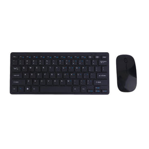 901A Automatic Pairing USB Wireless 2.4GHZ Keyboard Mouse Set Adjustable DPI Comfortable Keyboard Set For Computer PC - Deals Blast