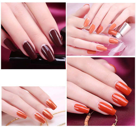 9ml Great quality 16 Diverse Red Colors Choose Nail Polish Quick Dry Nail Art Polish long Lasting Nail Enamel