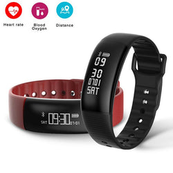 A69 Smart Band Bracelet Waterproof Wristband Pedometer Blood Pressure Heart Rate Monitor Fitness Tracker Smartband PK Mi Band 2 - DealsBlast.com