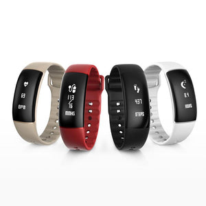 A69 Smart Bracelet Waterproof Smart Wristband Pedometer Heart Rate Watches Blood Pressure Fitness Tracker Smartband PK Mi Band 2 - DealsBlast.com