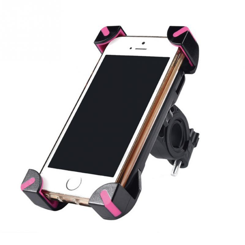 Anti-Slip Universal 360 Rotating Bicycle Bike Phone Holder Handlebar Clip Stand Mount Bracket For Smart Mobile Cellphone - Deals Blast